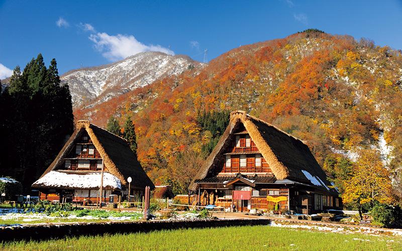 World Heritage Site, Gokayama Gassho-zukuri Village