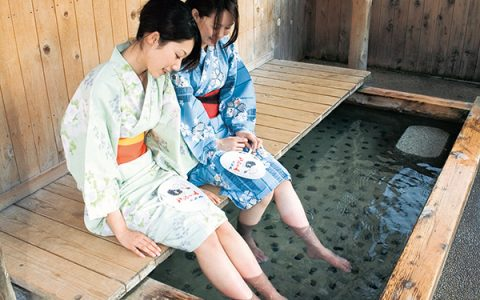 Gero Onsen (Hot Spring), one of Japan's three best hot springs