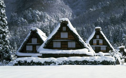 World Heritage Shirakawa-go Gassho-zukuri Village