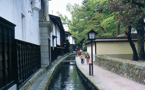 White-Walled Storehouses Along the Seto River