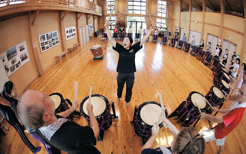 Sado Island Taiko Center