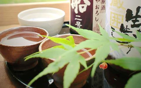 Local Sake from Omi