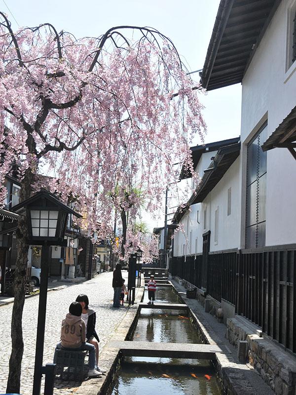 White-Walled Storehouses Along the Seto River