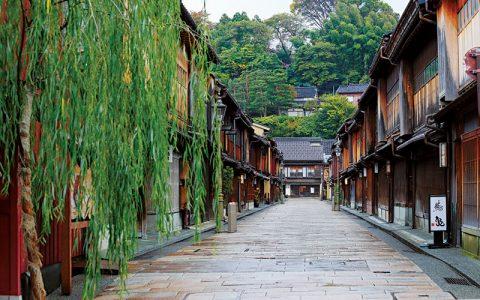 Higashi-Chaya Teahouse District