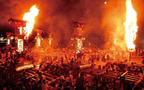 Kiriko lantern festivals