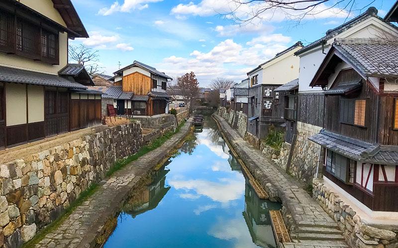 Omi Merchant Cityscape (Shinmachi Street)