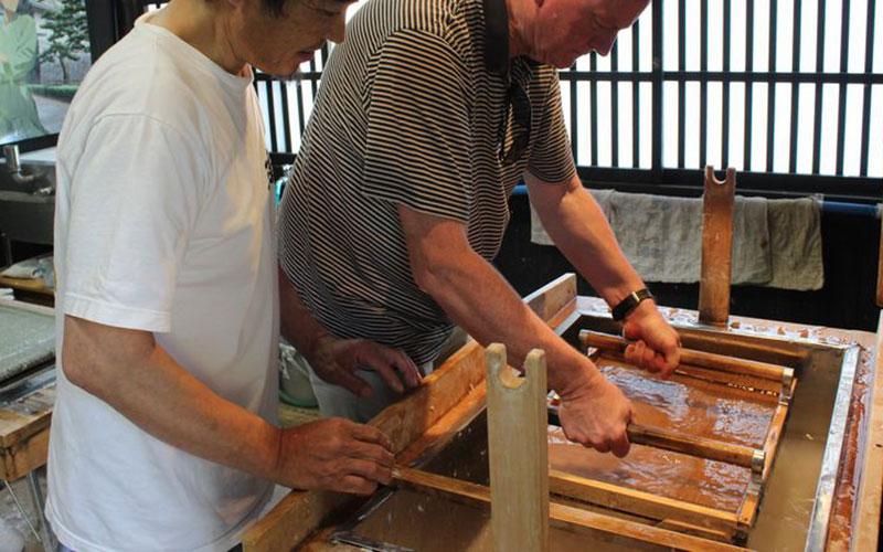 Gokayama Washi Paper-Making Hands-On Experience