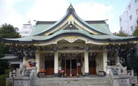 Namba Yasaka Jinja Shrine