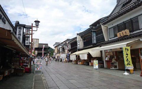 Zenkoji Temple Nakamise Street