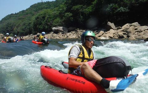 Water Tubing and White water Rafting