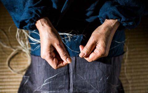 Omi Jofu Hemp Fabric